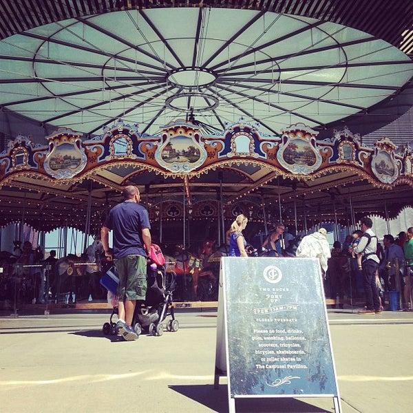 Photo taken at Jane's Carousel by Julius Erwin Q. on 8/24/2013