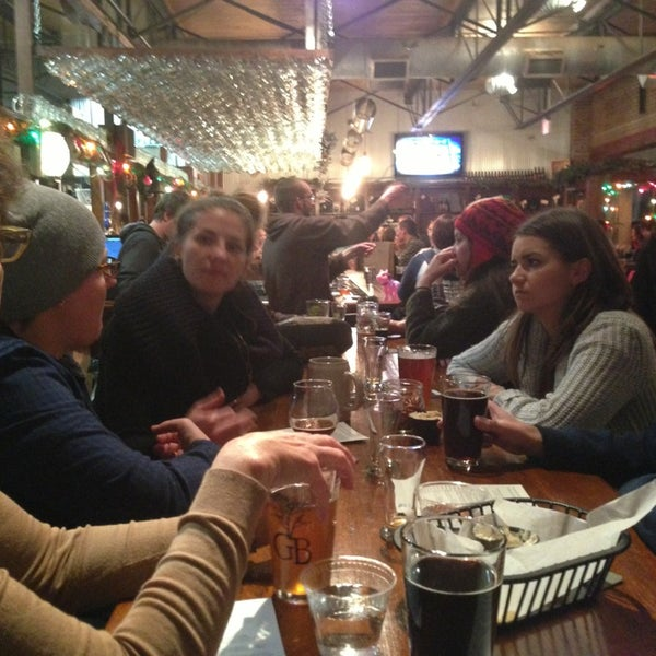 Photo taken at Greenbush Brewing Company by bj j. on 12/31/2012