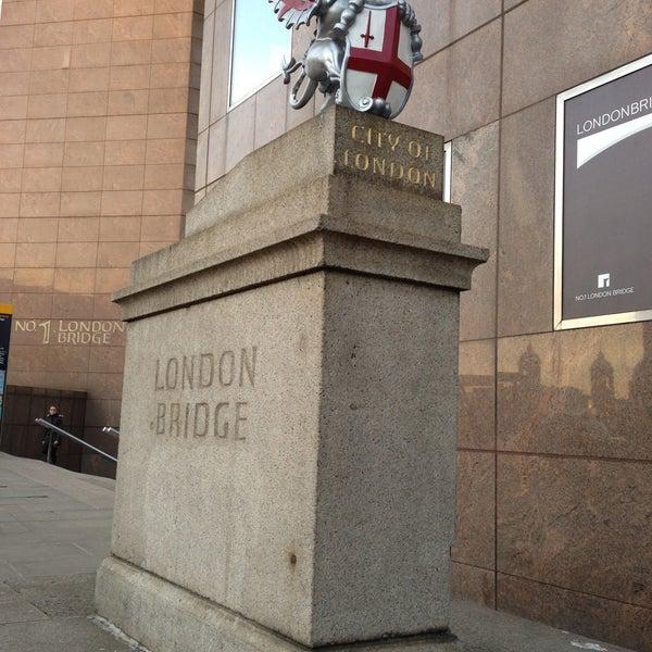 Photo taken at London Bridge by Jason H. on 4/15/2013