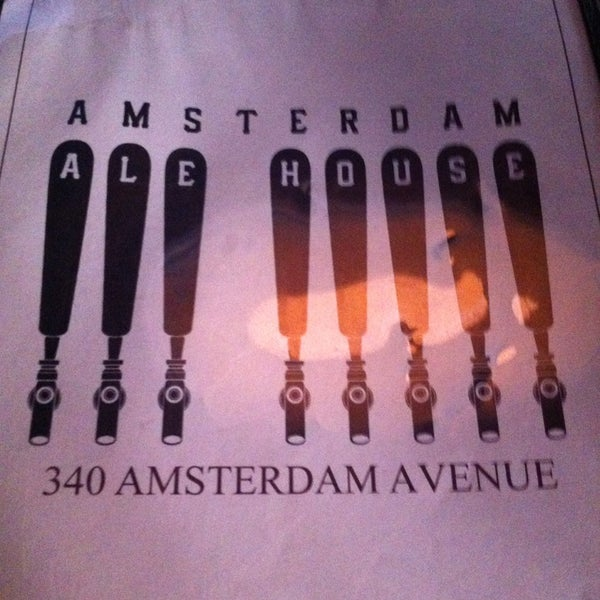 Photo taken at Amsterdam Ale House by Lisa on 7/14/2013