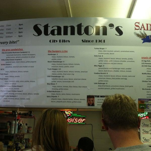 Photo taken at Stanton's City Bites by Kelli W. on 5/11/2013
