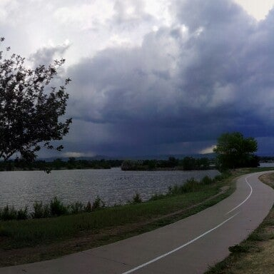 Photo taken at Sloan's Lake Park by cody d. on 6/17/2013