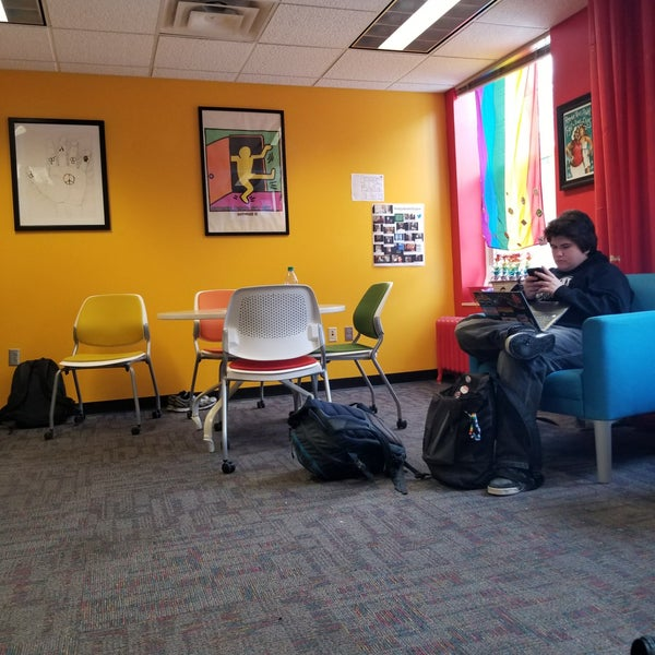 Photo taken at LGBT Student Services by Tommy W. on 2/23/2018