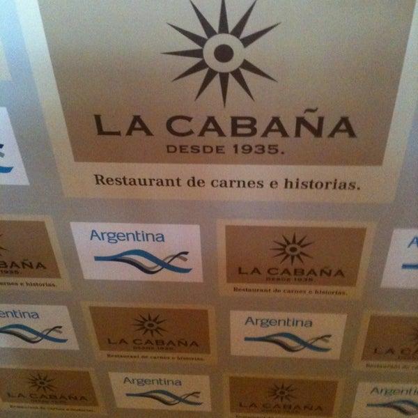 Photo taken at La Cabaña by OX N. on 1/1/2013