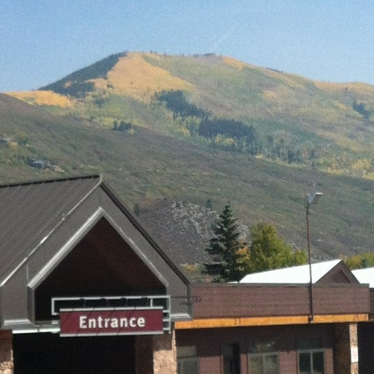 Photo taken at Aspen/Pitkin County Airport (ASE) by Mark C. on 9/21/2012