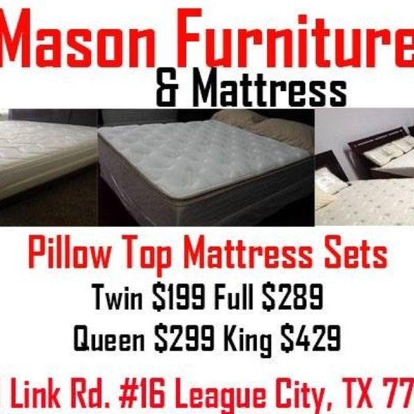 Mason furniture and mattress clear lake 1401 league for Furniture and mattress outlet mason city iowa