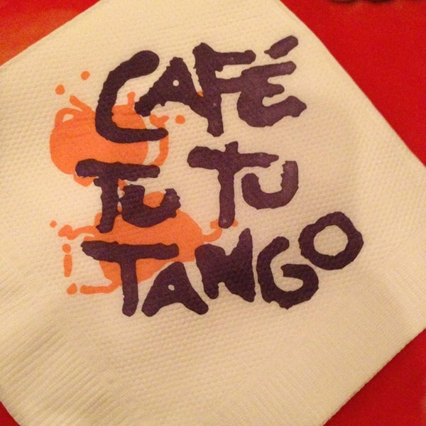 Photo taken at Café Tu Tu Tango by Barry D. on 1/18/2013