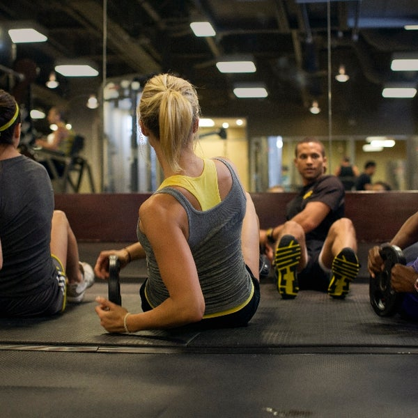 Photo taken at Gold's Gym by Gold's Gym on 7/2/2014