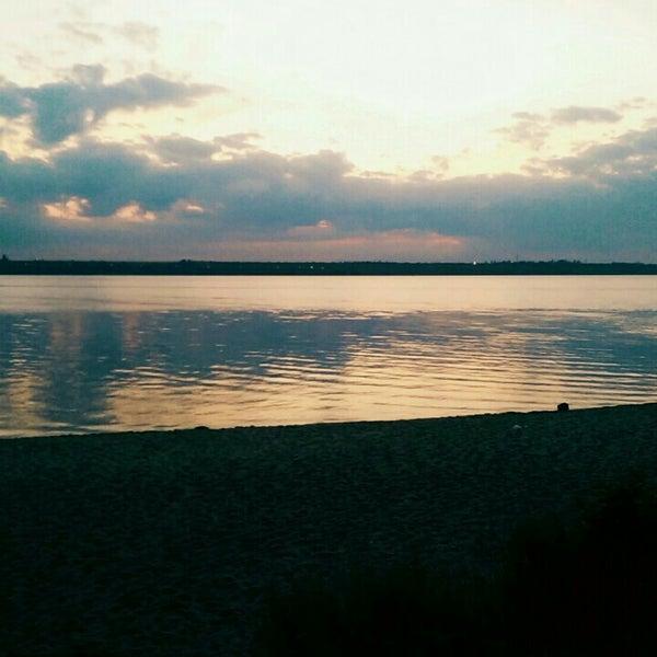 Photo taken at Пляж в Октябрьском by Ksenia T. on 6/24/2016