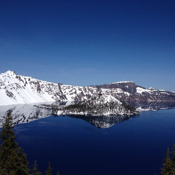 Photo taken at Crater Lake National Park by Christel M. on 3/30/2013