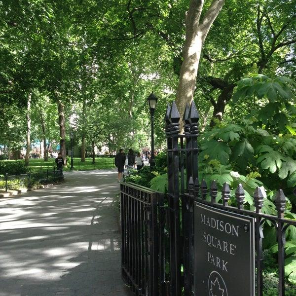 Foto diambil di Madison Square Park oleh Riccardo R. pada 5/26/2013