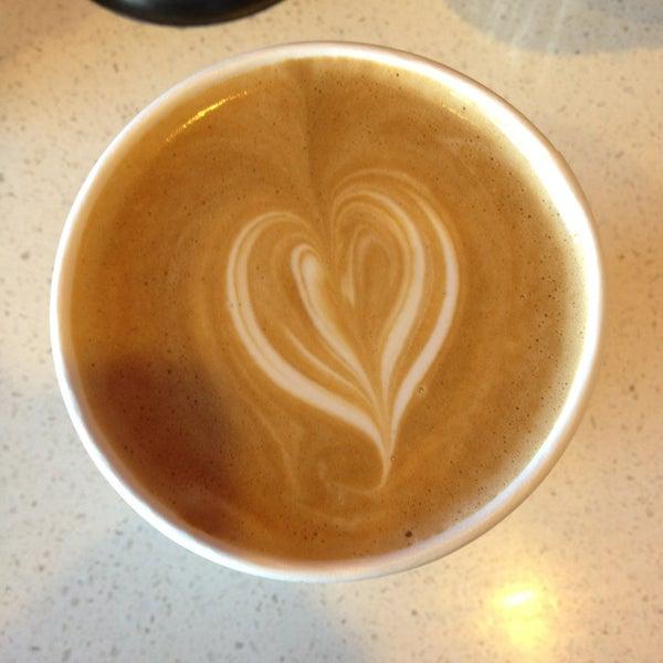 Photo taken at Stanza Coffee Bar by Daniel D. on 6/17/2013