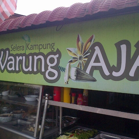 Photo taken at Warung AJA Selera Kampung by Syamil R. on 1/2/2015
