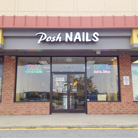 Posh Nails 1 - Nail Salon in Northeast Raleigh