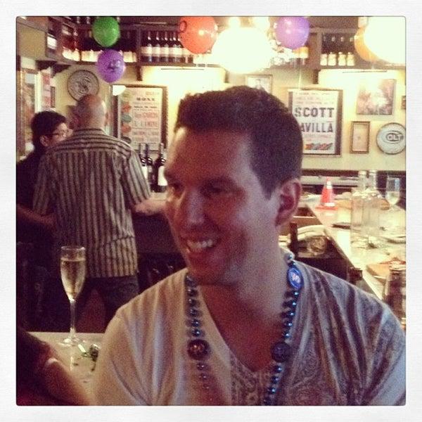 Photo taken at Vanguard Wine Bar by James C C. on 7/13/2013
