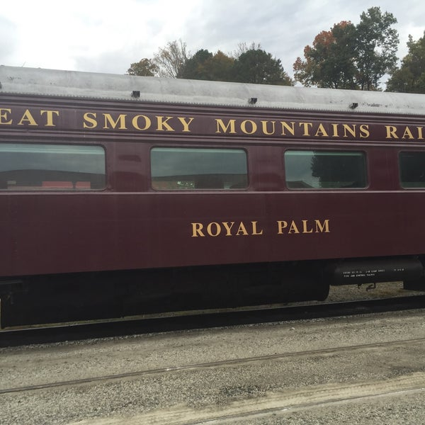 Photo taken at Great Smoky Mountain Railroad by Brian C. on 10/24/2015
