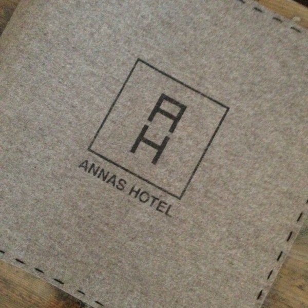 Photo taken at Annas Hotel by Irina. O. on 5/2/2014