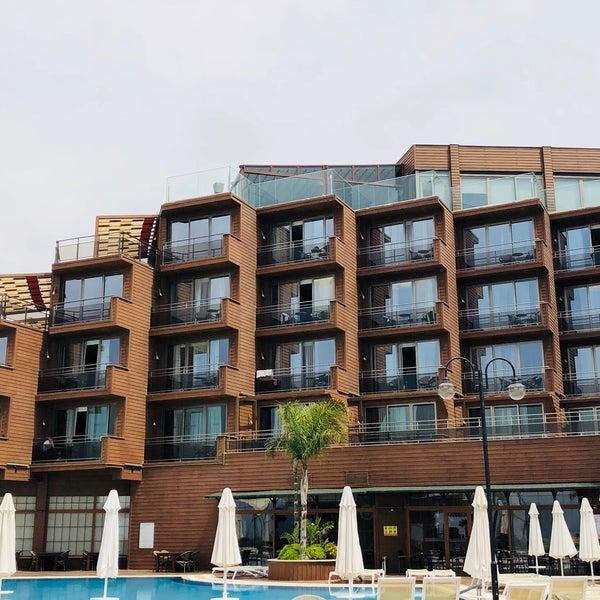 4/19/2018 tarihinde Selen D.ziyaretçi tarafından Suhan360 Hotel & Spa'de çekilen fotoğraf