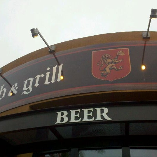 Photo taken at Thirsty Lion Pub & Grill by Scott M. on 4/26/2012