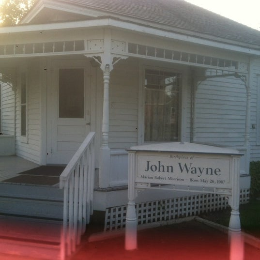 Photo taken at John Wayne Birthplace Museum by Jerry T. on 4/24/2012