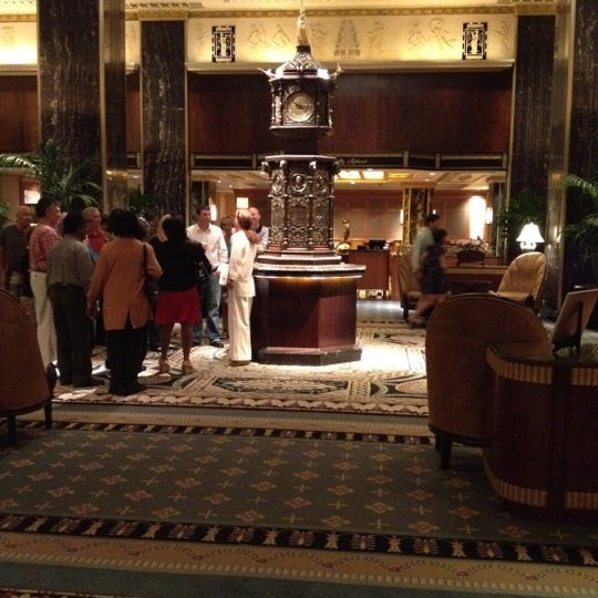 Photo taken at Waldorf Astoria New York by Alvin C. on 5/26/2012
