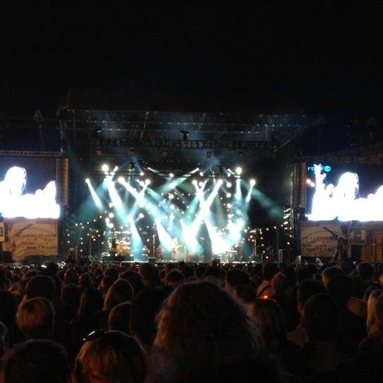 Photo taken at Paleizenplein / Place des Palais by sergiu on 8/11/2012