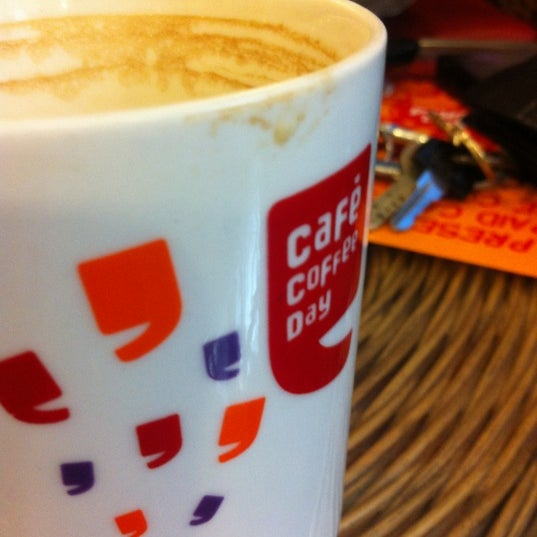 Photo taken at Cafe Coffee Day by Gokul V. on 5/22/2012