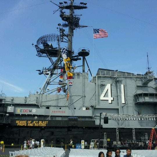 Photo taken at USS Midway Museum by Roy on 9/8/2012