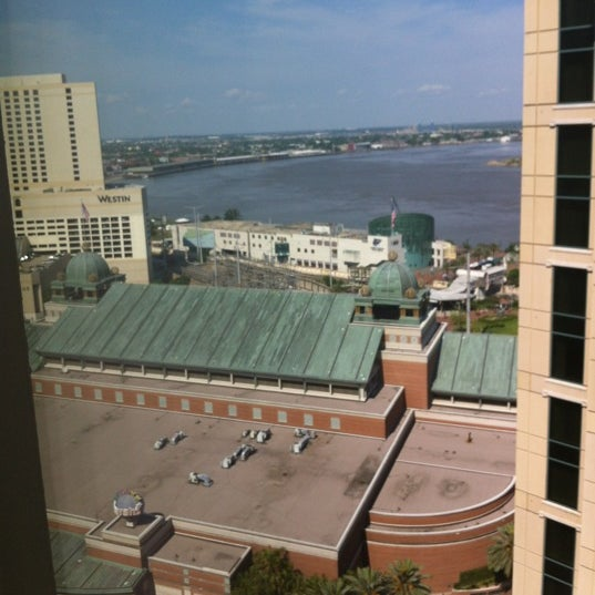 Photo taken at Loews New Orleans Hotel by Abigail S. on 4/9/2012