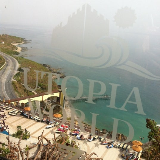 4/30/2012 tarihinde Юлия М.ziyaretçi tarafından Utopia World Hotel'de çekilen fotoğraf