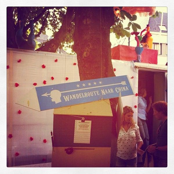 Photo taken at Festivalplein Theaterfestival Boulevard by Marijn R. on 8/9/2012