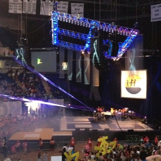 Photo taken at Bryce Jordan Center by Kelsey-Lane G. on 2/17/2012