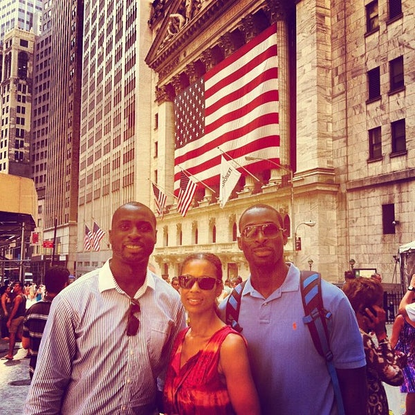 Photo taken at NYSE Euronext by Wiafe M. on 9/7/2012