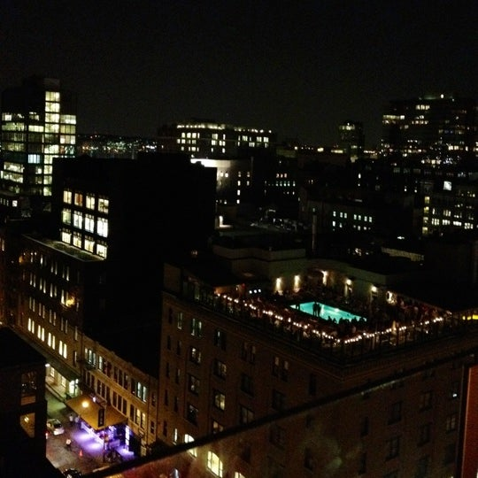 Photo taken at Gansevoort Meatpacking NYC by Hopkinson R. on 8/9/2012