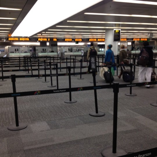 Toronto Pearson International Airport: U.S. Customs And Border Protection