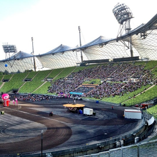 Photo taken at Olympic Stadium by Simon H. on 6/22/2012
