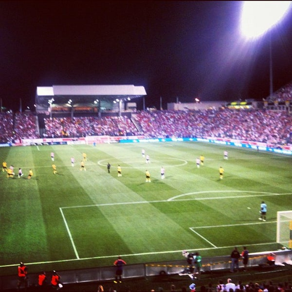 Photo taken at MAPFRE Stadium by Brian J. on 9/12/2012
