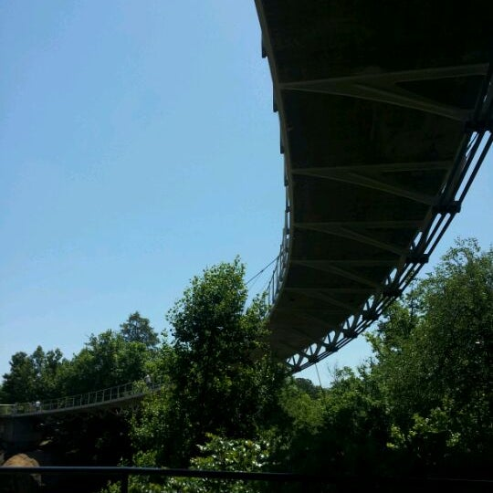 Photo taken at Liberty Bridge by Perry T. on 5/20/2012
