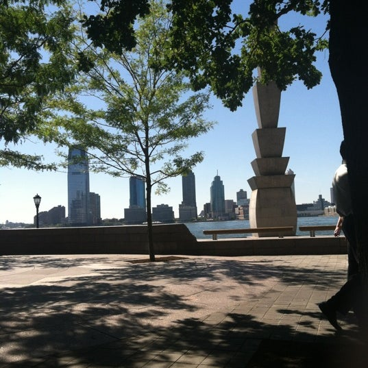 Photo taken at Battery Park City Esplanade by Sara G. on 7/25/2012