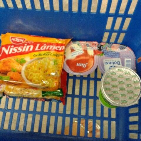 Photo taken at Supermercados Nazaré by Neto U. on 8/27/2012