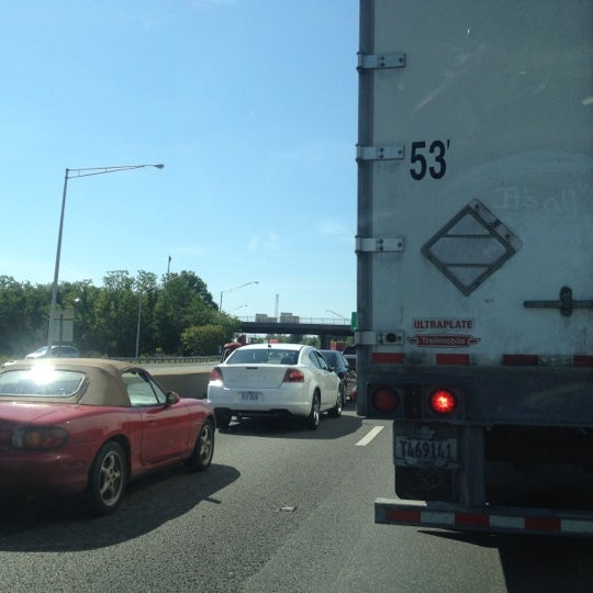Photo taken at HRBT by Russell B. on 5/7/2012