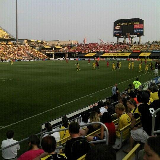 Photo taken at MAPFRE Stadium by Tara T. on 5/26/2012