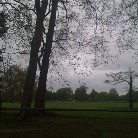Photo taken at Clapham Common by Mariane P. on 5/20/2012
