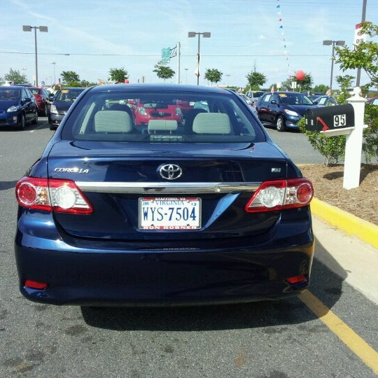 Photo Taken At Sheehy Toyota Of Stafford By Stephen L. On 6/16/