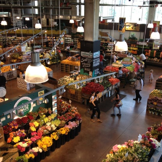 Photo taken at Whole Foods Market by Stephanie P. on 5/24/2012