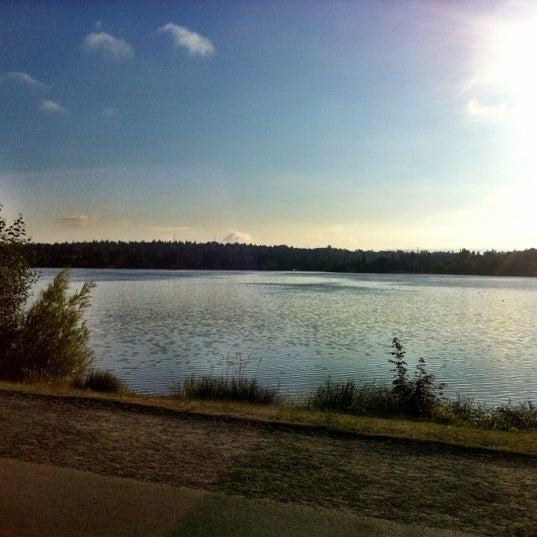Photo taken at Green Lake Boathouse by Erik B. on 8/1/2012