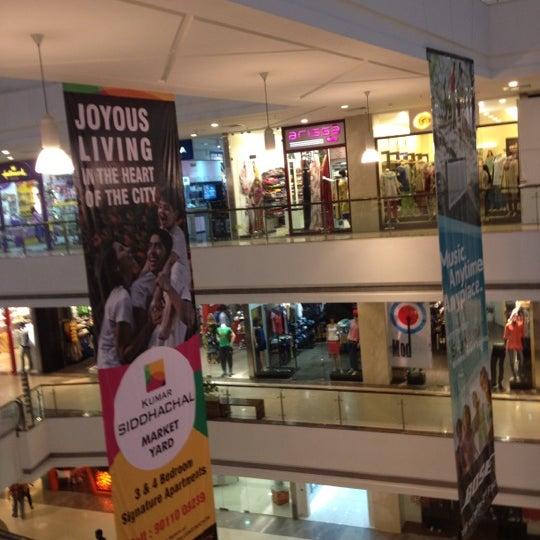 Photo taken at Kumar Pacific Mall by Ajit G. on 9/3/2012