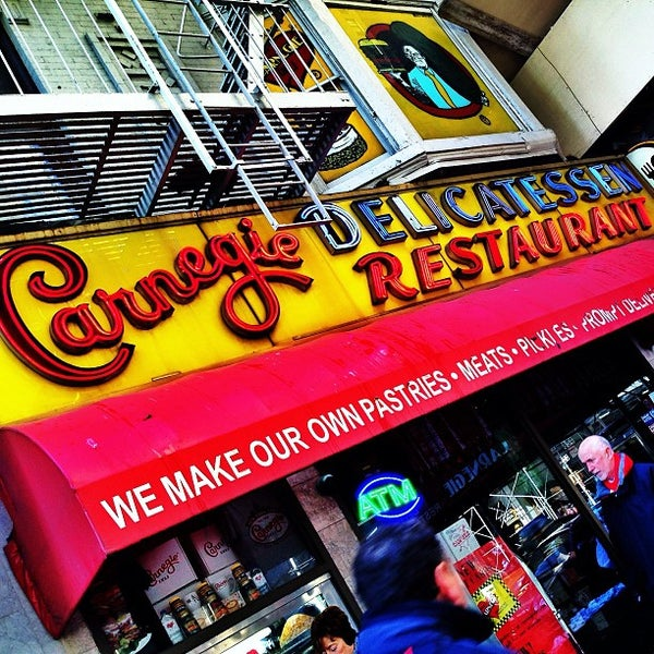 Photo taken at Carnegie Deli by Shelby B. on 2/10/2013