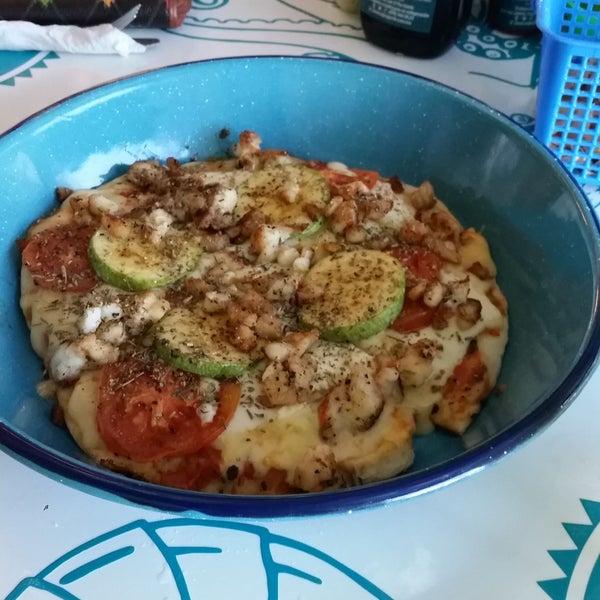 Pizza de  langosta! #OMG 😍