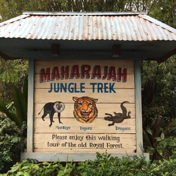 Photo taken at Maharajah Jungle Trek by moraima c. on 12/26/2016